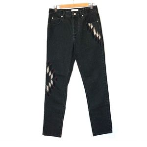 ISABEL MARANT EMBROIDERED ÉTOILE JEANS
